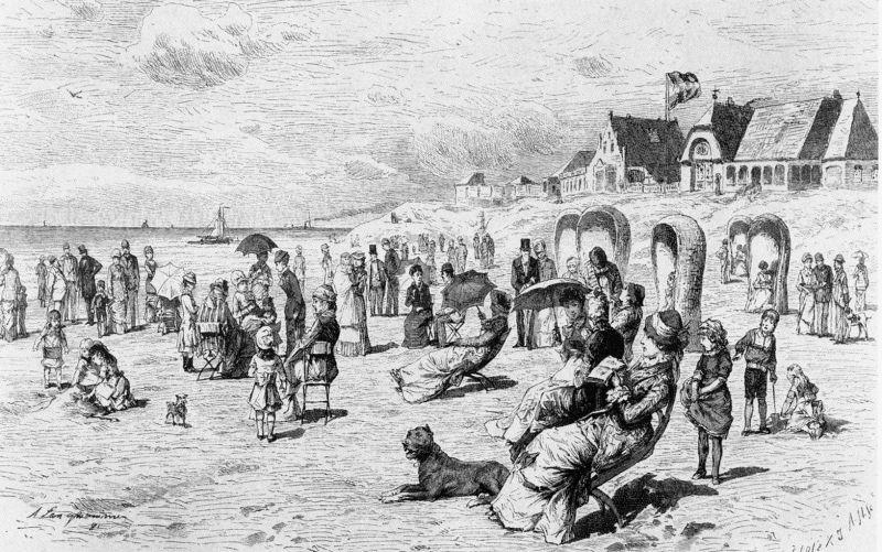 Langhammer, Norderney 1881