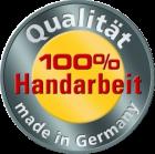 Hergestellt in Handarbeit in Deutschland