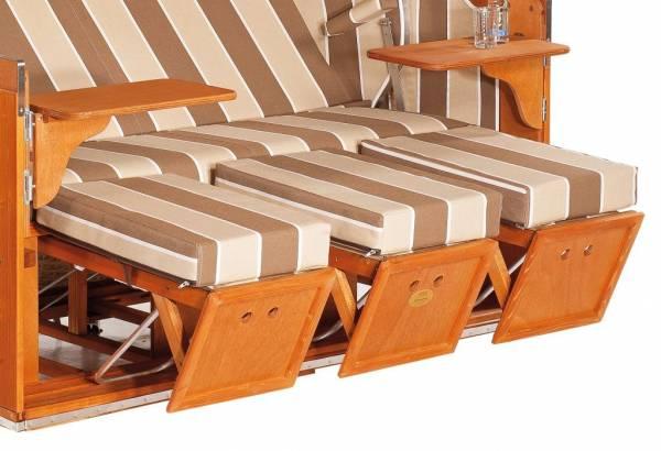 Großes Fußstützenkissen, dreiteilig von SonnenPartner®